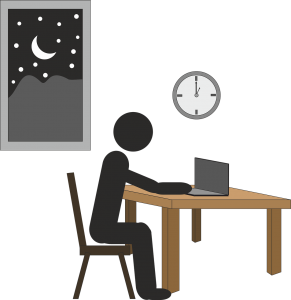 Work Overtime Over Night Stress  - ambadysasi / Pixabay